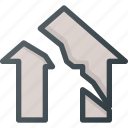 apartment, earthquake, home, house, real, setate icon