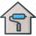 apartment, home, house, real, renovation, setate icon