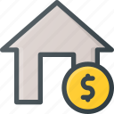 apartment, buy, home, house, pay, real, setate icon