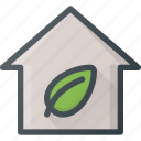 apartment, eco, home, house, real, setate icon