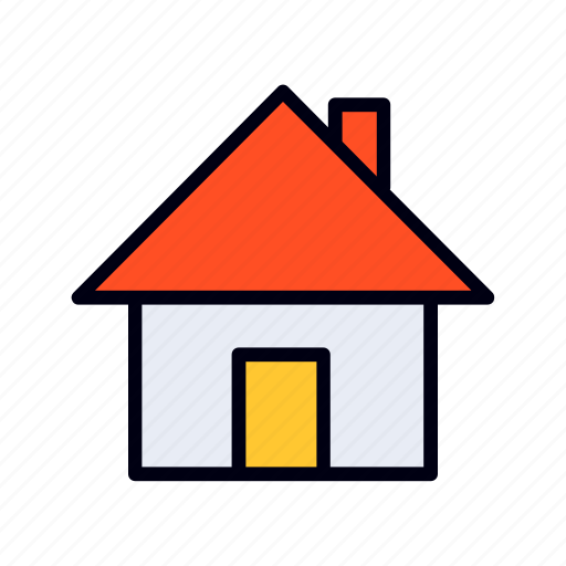 building, estate, home, house, real, rent icon