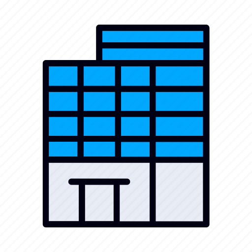 Building, real, estate, house, rent, home icon