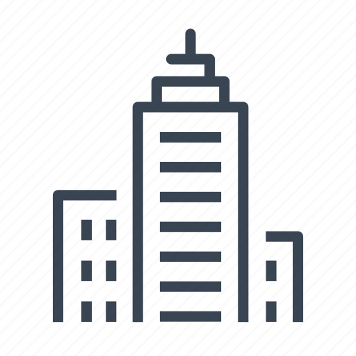 building, company, office, real estate icon