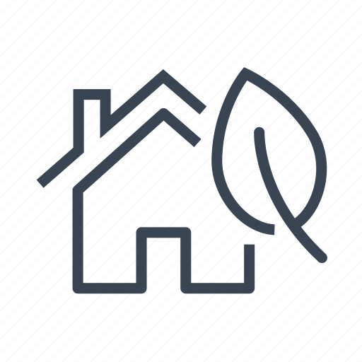 eco, ecology, green, home, house icon