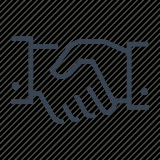 agreement, collaboration, deal, handshake, partnership icon