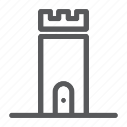 building, caste, construction, house, real estate icon