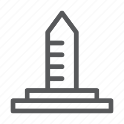 building, construction, house, real estate, tower icon
