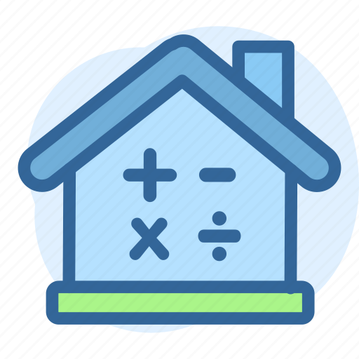 business, calculating, estate, porperty, price, real icon