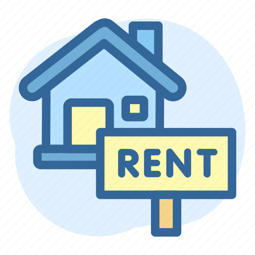 Business, estate, house, real, rent, sign icon - Download on Iconfinder