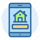 app, business, estate, mobile, property, real icon