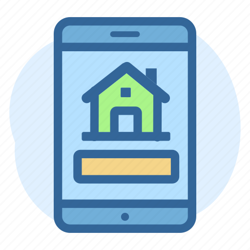 App, business, estate, mobile, property, real icon - Download on Iconfinder