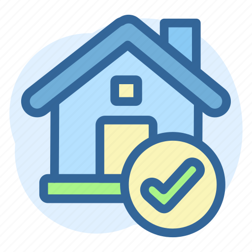 Business, checked, estate, property, real icon - Download on Iconfinder