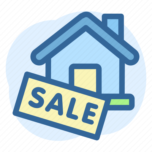 Business, estate, property, real, sale, sign icon - Download on Iconfinder