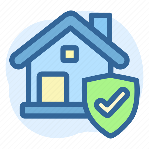 business, estate, property, real, secured icon