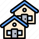 estate, house, property, real, real estate icon