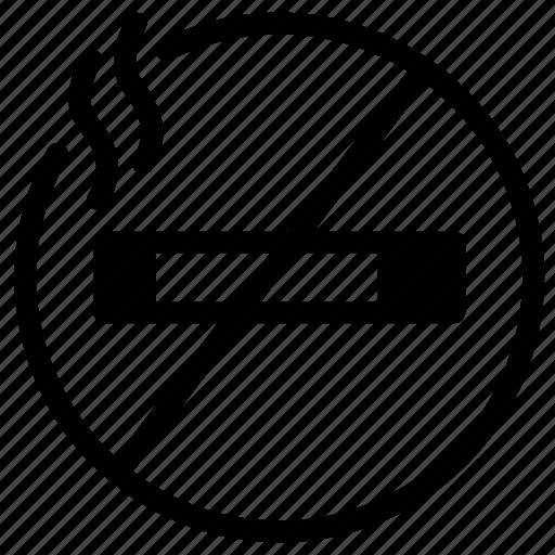 area, cigarette, non, smoke, smoker, smoking, tabacco icon