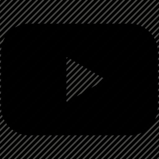 audio, film, media, multimedia, music, video, youtube icon