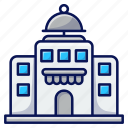 building, food, diner, restaurant icon