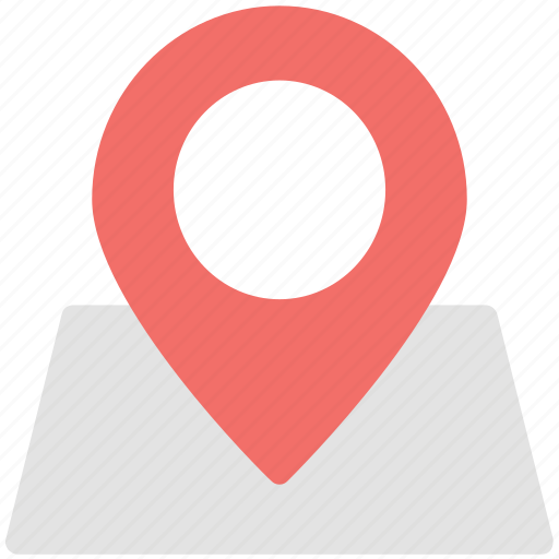 gps, location pin, location pointer, map pin, navigate, navigation icon