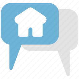 bubble, chat, comments, property chat icon