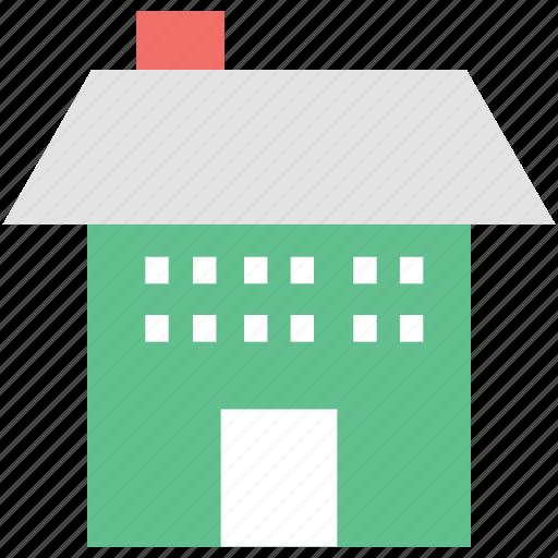 apartment, cottage, lodge, real estate, shop icon