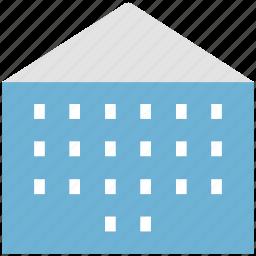building, residence, residential building, residential flats icon