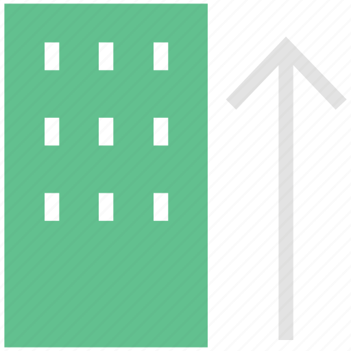 building, real estate, residential building, residential flats icon