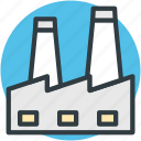 manufactory, mill, industry, chimney, factory
