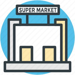 bake shop, emporium, shopping mall, store, supermarket icon