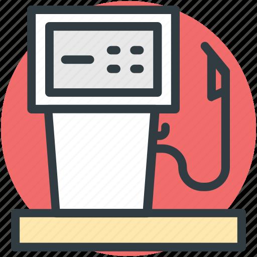 fuel dispenser, fuel pump, gas station icon