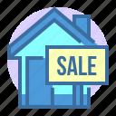 building, estate, home, house, property, sale
