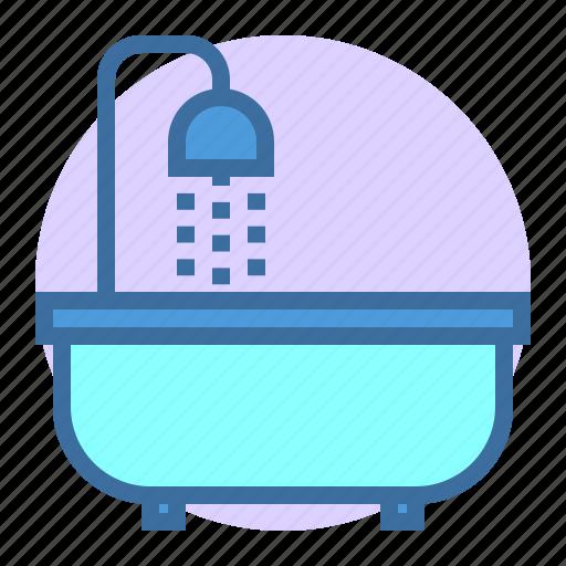 bath, bathroom, estate, home, property icon