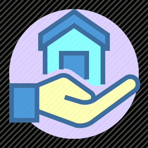estate, home, loan, property icon