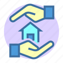 estate, home, insurance, loan, property icon
