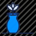 decoration, estate, flower, furniture, home, pot, real icon