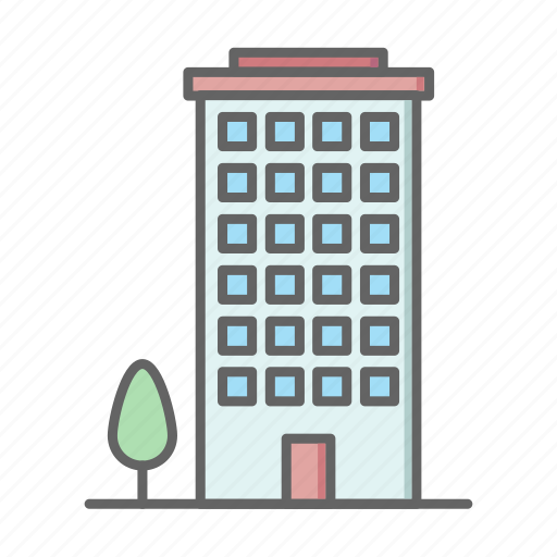 building, estate, home, house, real, rent, sale icon