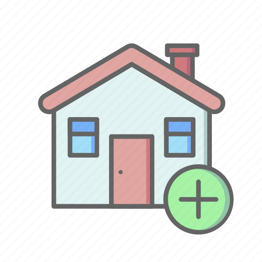 Add, estate, home, house, real, rent, sale icon - Download on Iconfinder