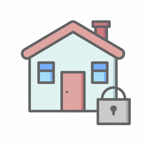 Estate, home, house, lock, real, rent, sale icon - Download on Iconfinder