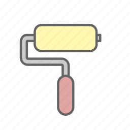 estate, home, house, paint, real, rent, sale icon
