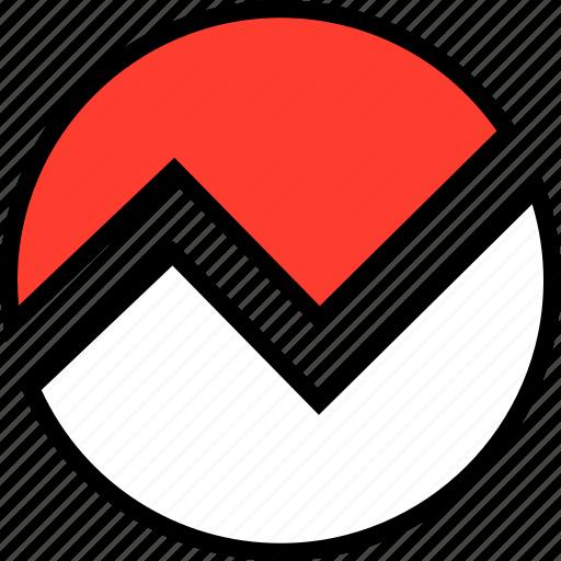 analytics, everyday, random icon