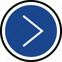 forward, go, navigation icon