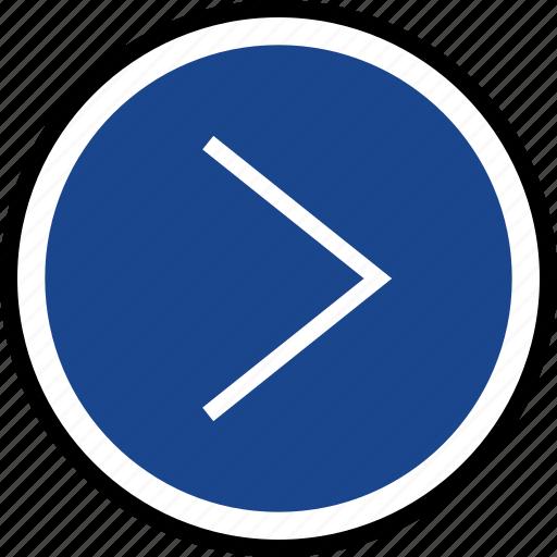 forward, go, navigation icon
