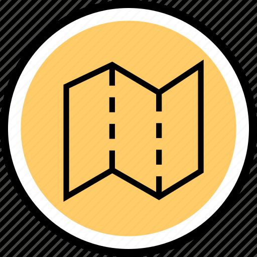 Map, menu, navigation icon - Download on Iconfinder