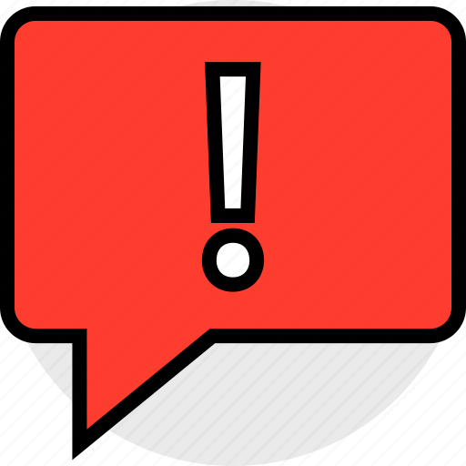 bubble, chat, notification icon