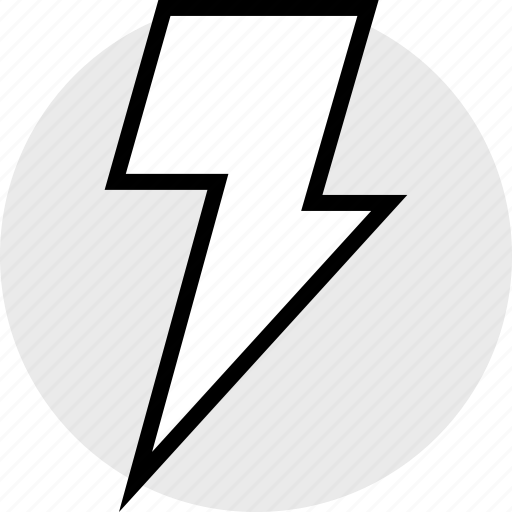 energy, fast, lightning, power icon