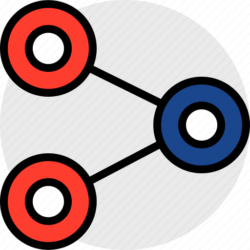 data, file, share icon
