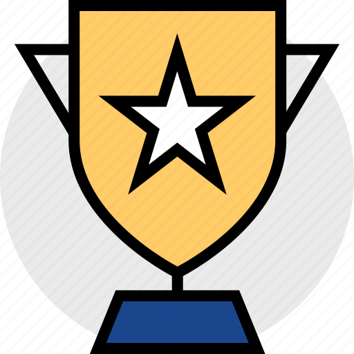 award, awarded, star, trophy icon