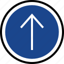 arrow, navigation, up icon
