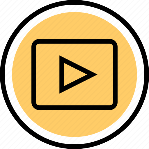 Video, playback, youtube icon