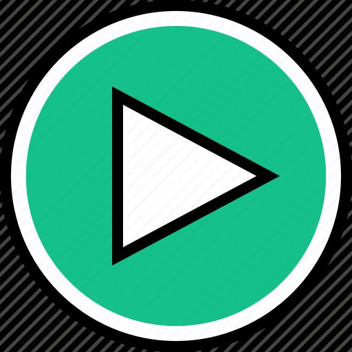 play, vidoe, youtube icon